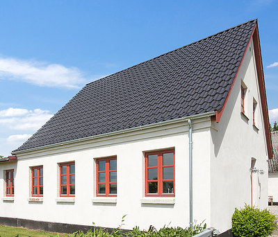 Nyt V. Meyer tegltag og facaderenovering af hus i Næstved