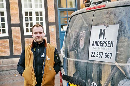 Tømrerfirma M. Andersen Cover