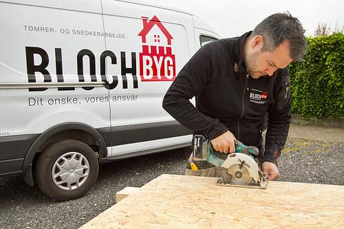 Bloch Byg v/Tømrermester Rasmus Thomsen Cover