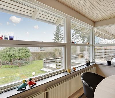 Nye Velfac vinduer i hus i Tranbjerg