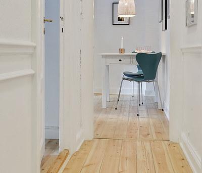 Gulvafslibning af 110 m2 lejlighed i København